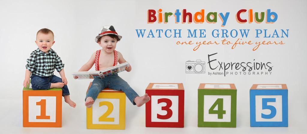 Birthday Club | Watch Me Grow Plan | kids birthday program | kids club | fargo, nd | bismarck, nd  | child birthday club