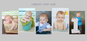 Newborn to one year | Photography plan | milestone sessions